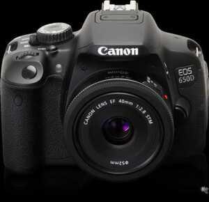 Canon's latest EOS 650D