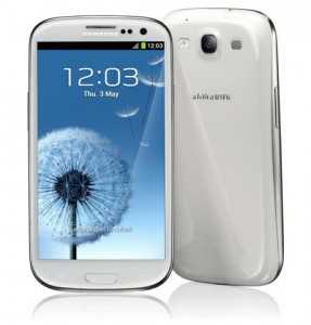 Galaxy S III with the brighter display