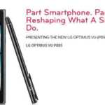 LG Optimus Vu P895: New Phablet on the Block