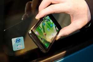 Hyundai smartphone key connectivity concept