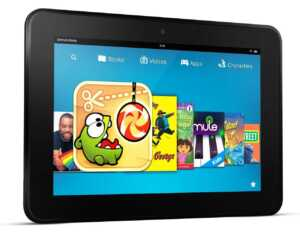 New Kindle Fire HD