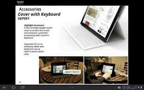 Sony Xperia tab