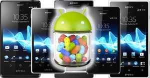 Xperia T, Xperia TX, Xperia V Jelly Bean Update