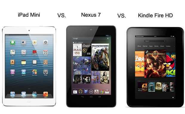 Apple Ipad Vs Kindle: Bad News For Google Nexus 7: Apple IPad Mini And Amazon