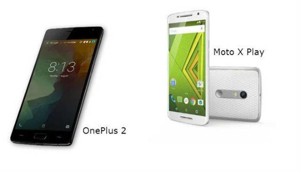 Moto X Play vs. One Plus 2