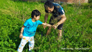 Parenting, outdoor play