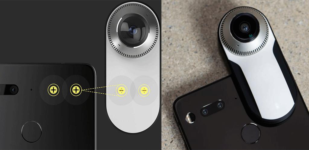 how to install essential phone 360 camera