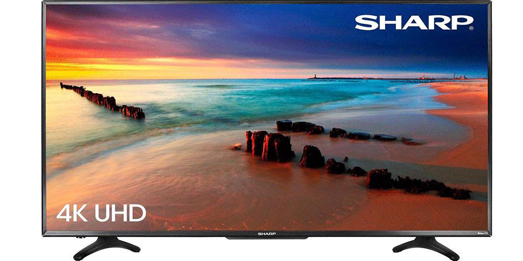 Sharp 50-inch 4K Ultra HD TV
