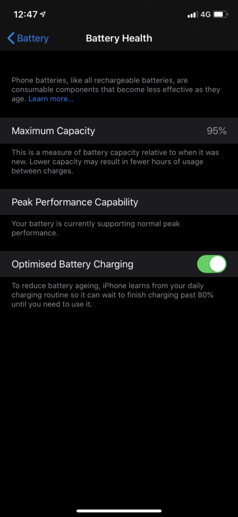 ios 13 better battery feature