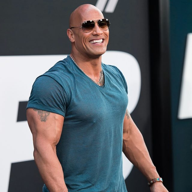 Dwayne Johnson highly paid actor