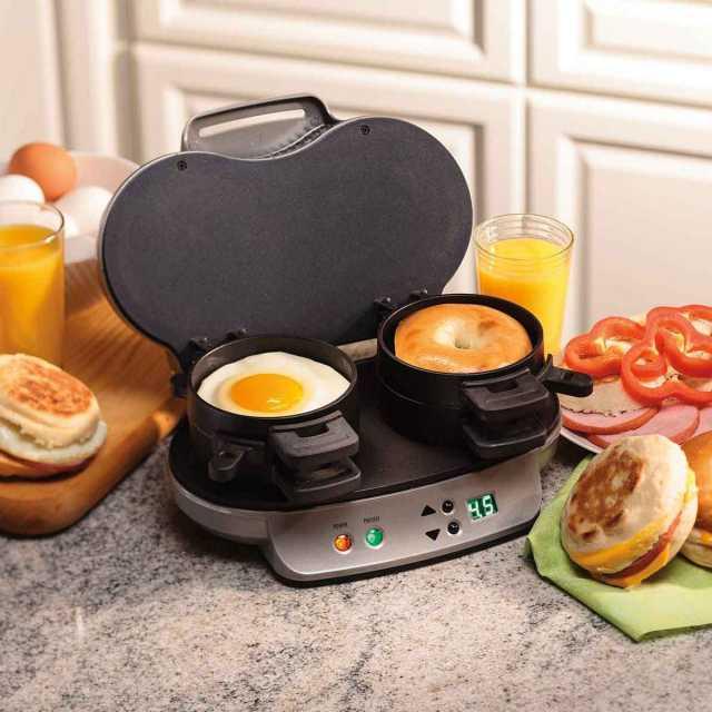 Hamilton Beach Double Breakfast Sandwich Maker