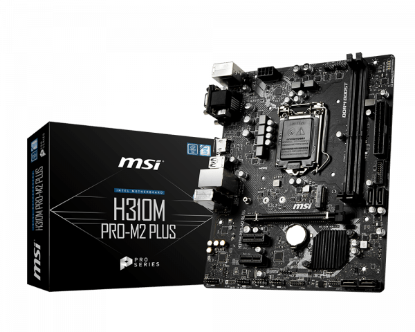 MSI Motherboards H310M PRO-M2 Plus