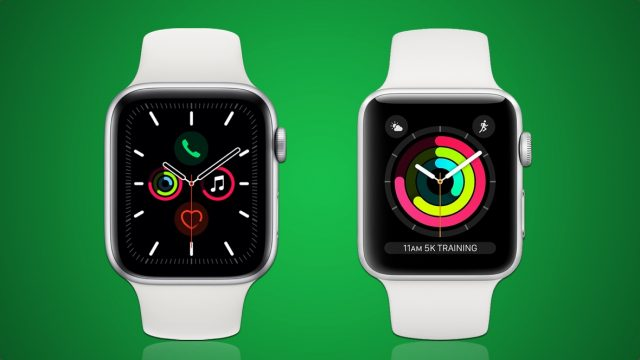 Difference Between Series 3 And 5 Apple Watch