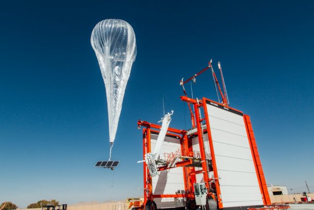 Google Loon Balloon Project