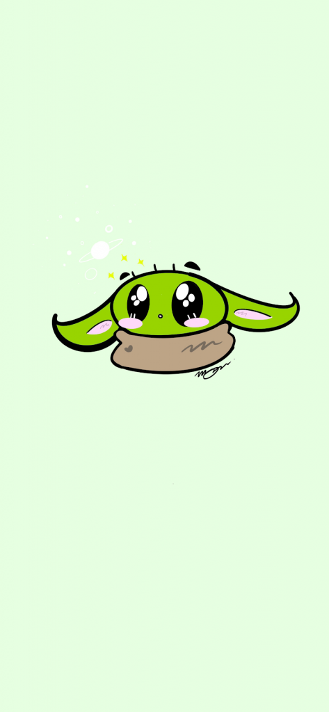 Baby Yoda Wallpaper for iPhone 11 Max Pro Image 12