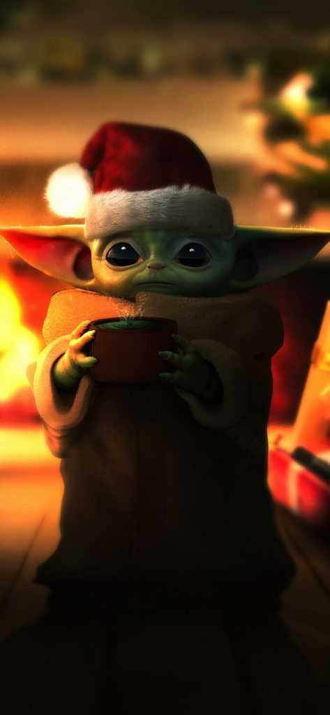 Baby Yoda Wallpaper for iPhone 11 Max Pro Image 2