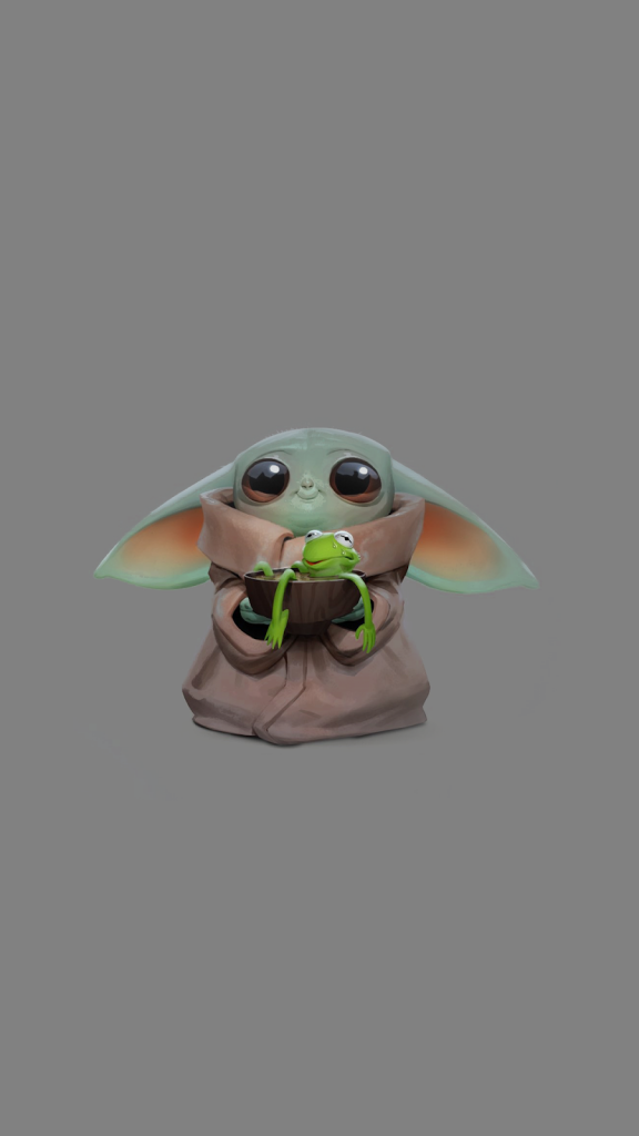 Baby Yoda Wallpaper for iPhone 11 Max Pro Image 7