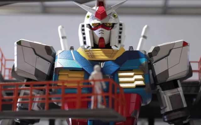 Gundam Robot1