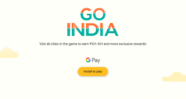 Google Pay 'Go India'
