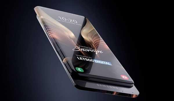 Samsung New Smartphone With Surround Display & Sliding Camera 2