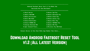 android fastboot reset tool 1