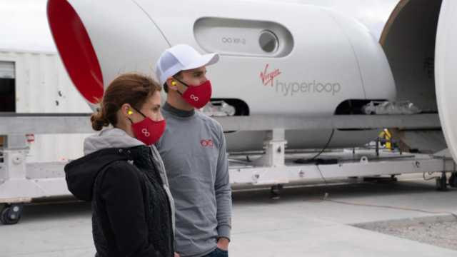 virgin hyperloop pod 1